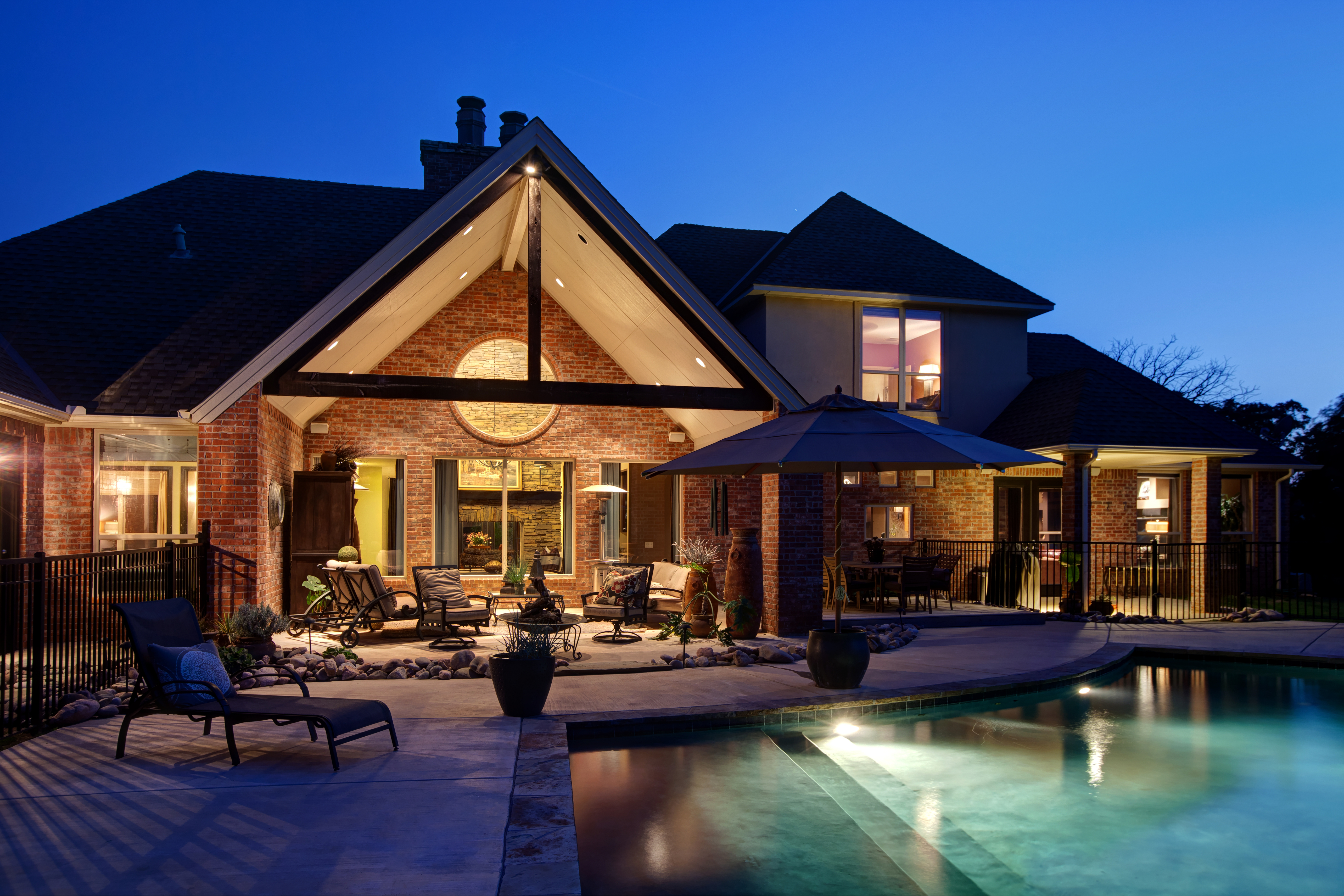 Outdoor Living Area Awesome Outdoor Living Spaces  Christopher Lee & Company Fine Homes
