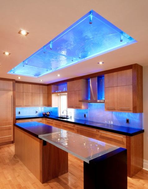 Chris Lee Homes Led Lighting In Glass