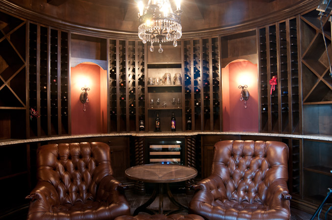 Latest in design for home wine cellars chris lee homes for Wine cellar in house